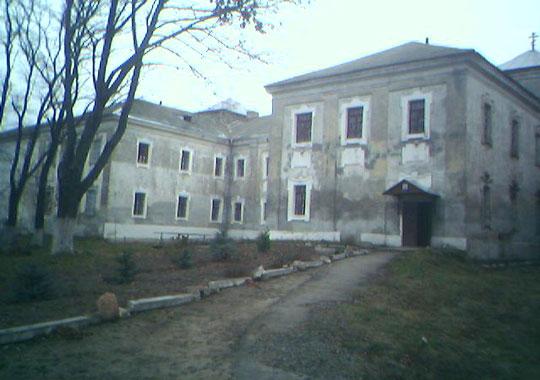 Мужской монастырь в Юровичах