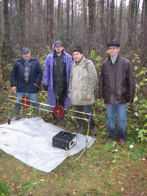 Участники 7-й белорусской метеоритной экспедиции